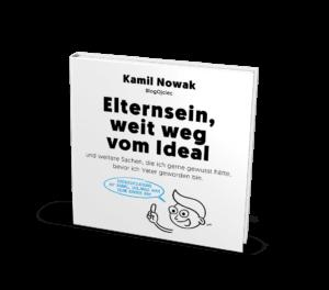 """Ebook """"Idealny rodzic nie istnieje"""" w języku niemieckim, czyli """"Elternsein, weit weg vom Ideal"""" (PDF)"""