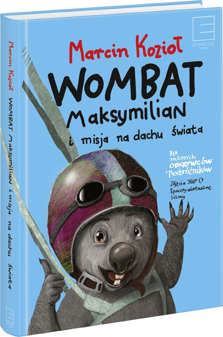 Wombat Maksymilian i misja na dachu świata (egzemplarz z autografem autora)
