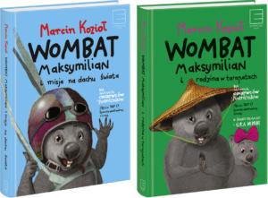 Zestaw 2 x Wombat Maksymilian (oba egzemplarze z autografem autora)